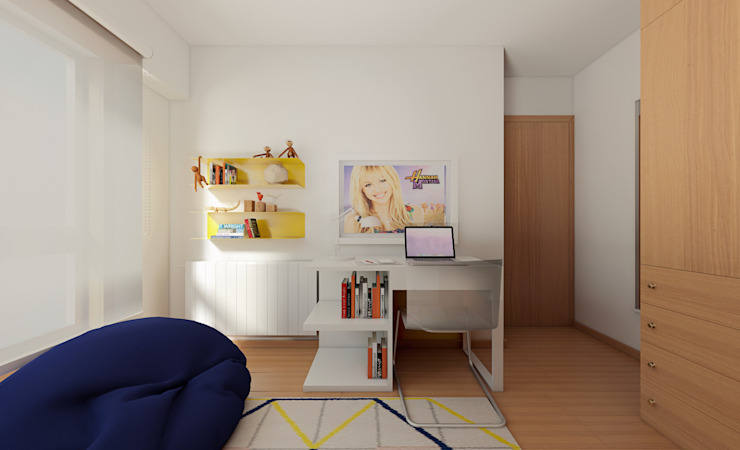 Habitaciones para niños de estilo minimalista de José Tiago Rosa Minimalista