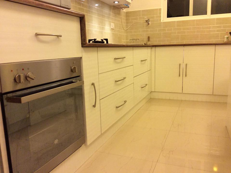 4BHK Home Interior End to End Turnkey Project @ Whitefield Bangalore Asian style kitchen by HCD DREAM Interior Solutions Pvt Ltd Asian Plywood