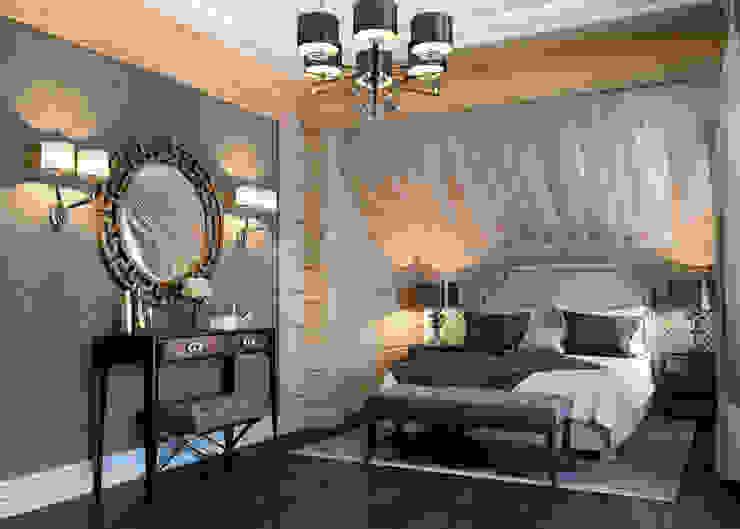 Спальня в американском стиле Спальня в эклектичном стиле от EJ Studio Эклектичный