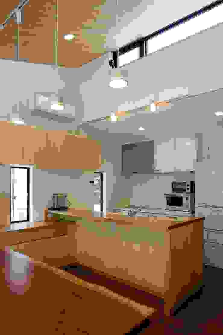 アトリエグローカル一級建築士事務所 Cocinas de estilo escandinavo