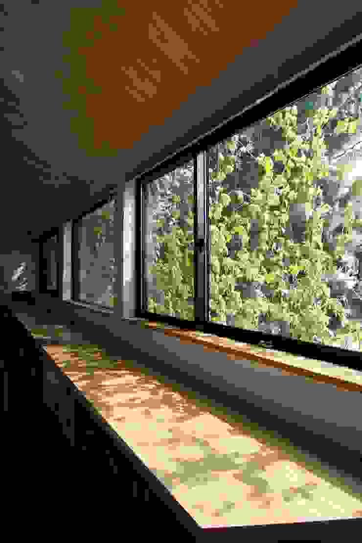 アトリエグローカル一級建築士事務所 Jardines de invierno de estilo escandinavo