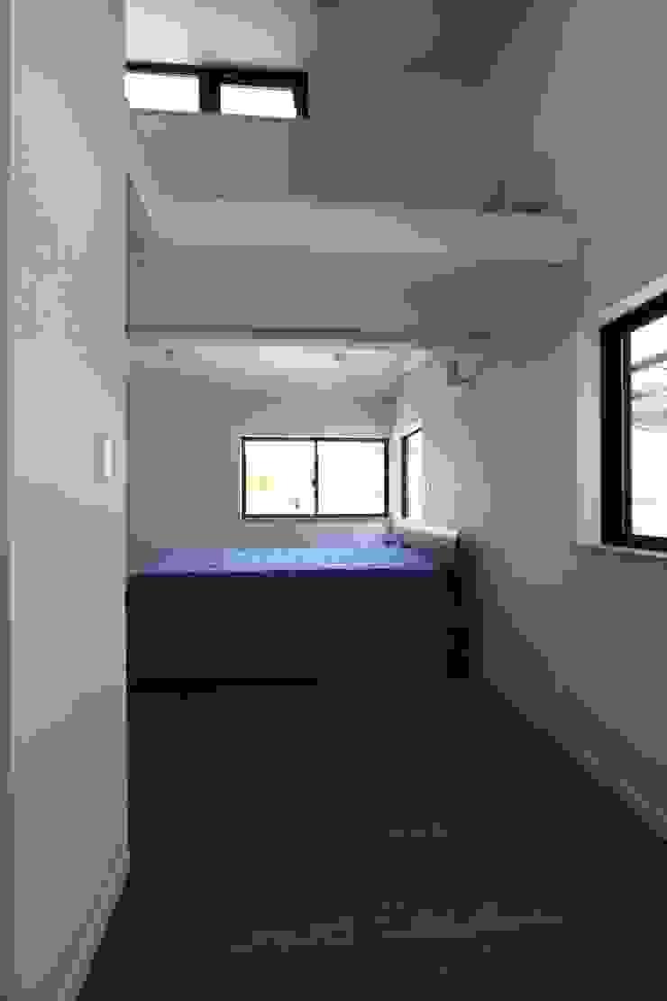 アトリエグローカル一級建築士事務所 Dormitorios de estilo escandinavo