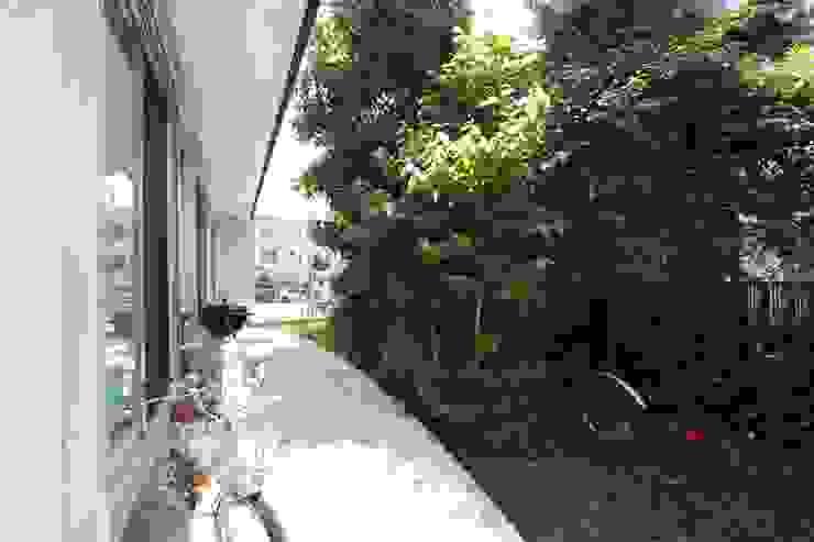 風が通り抜ける家 カントリーな 庭 の アトリエグローカル一級建築士事務所 カントリー