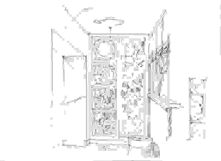 Квартира в ЖК «Московский». Кухня в классическом стиле от Архитектурно-дизайнерская компания Сергея Саргина Классический