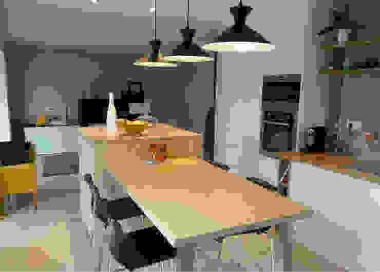 Projekty,  Kuchnia zaprojektowane przez UN AMOUR DE MAISON,