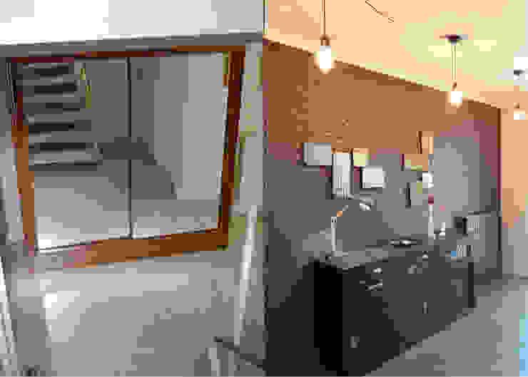 Koridor & Tangga Modern Oleh UN AMOUR DE MAISON Modern