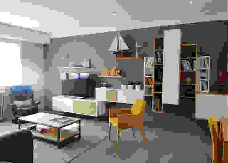 Salas modernas de UN AMOUR DE MAISON Moderno