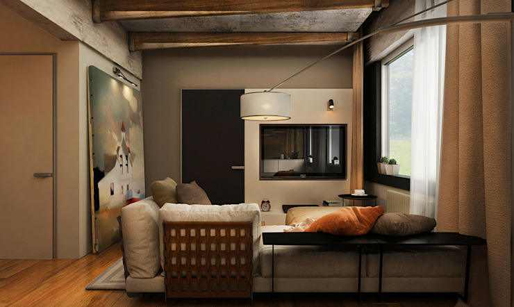 Living room by he.d group,