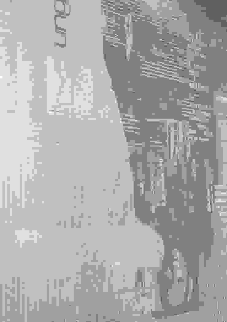 Декоративное покрытие-коллаж с принтами и грубыми текстурами под бетон от мастерская22 Лофт