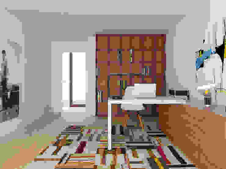 José Tiago Rosa Modern style study/office