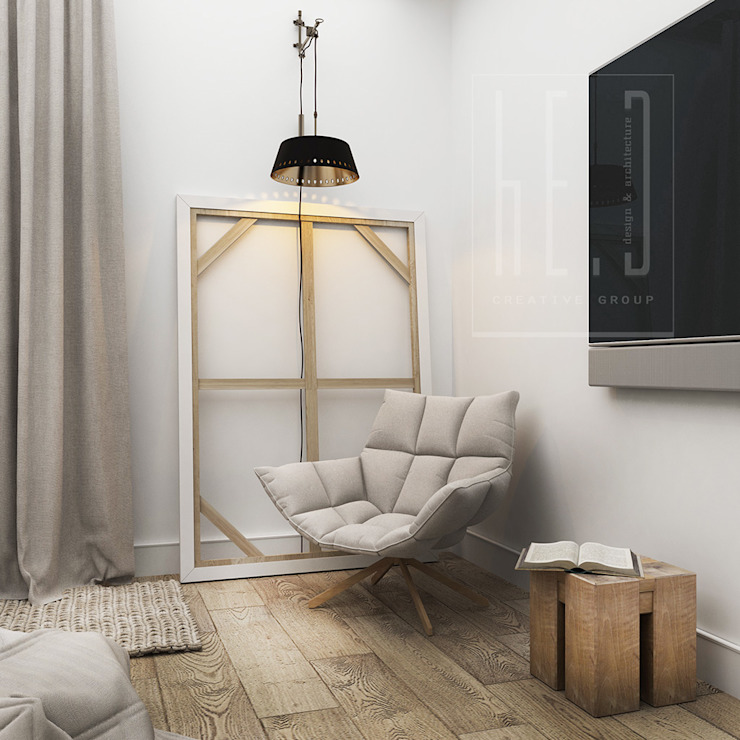Dormitorios de estilo minimalista de he.d group Minimalista