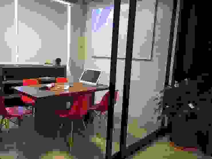 Bangunan Kantor Modern Oleh VICTORIA PLASENCIA INTERIORISMO Modern Kayu Wood effect