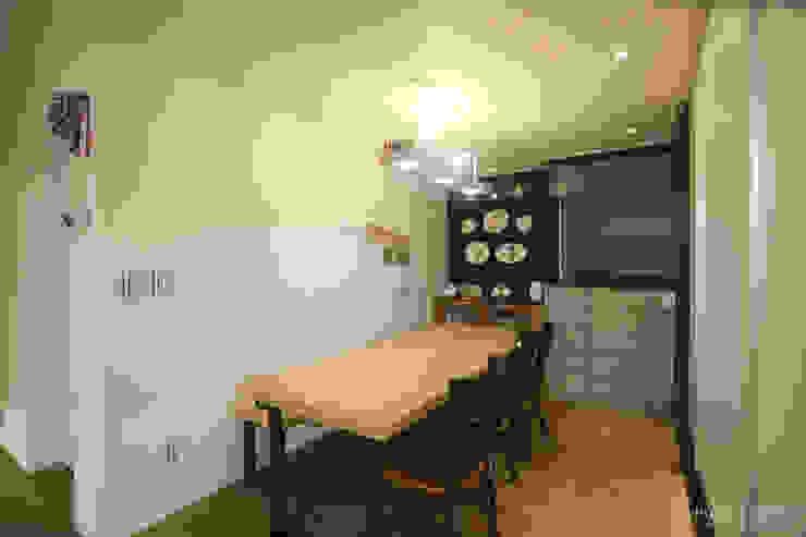 Ruang Makan oleh 홍예디자인, Modern