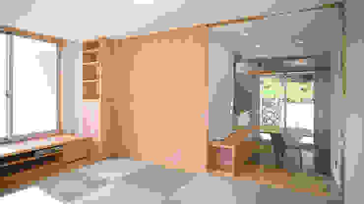 リビング・ダイニング オリジナルデザインの リビング の 優人舎一級建築士事務所 オリジナル