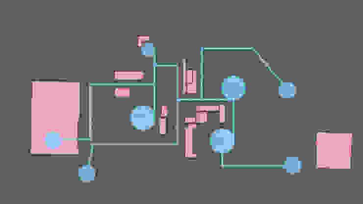 2つのコンセプトの組み合わせ オリジナルな 家 の 優人舎一級建築士事務所 オリジナル