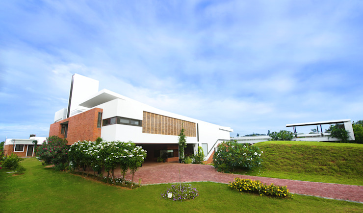 The complete picture Modern houses by étendre Modern Bricks