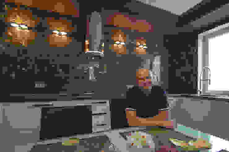 Архитектор Александр Иванюшин: Гостиная в . Автор – Ал