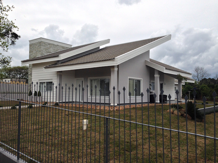 Residência CBM Ágape Arquitetos Associados Rumah Modern
