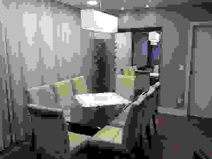 Interiores MM Ágape Arquitetos Associados Modern dining room