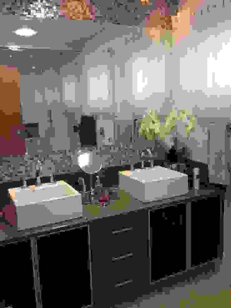 Residência CBM Ágape Arquitetos Associados ห้องน้ำ