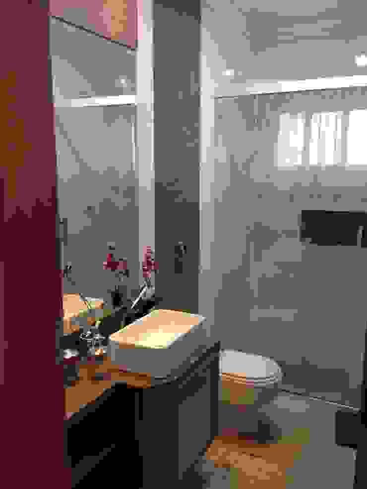 Residência CBM Ágape Arquitetos Associados Kamar Mandi Modern
