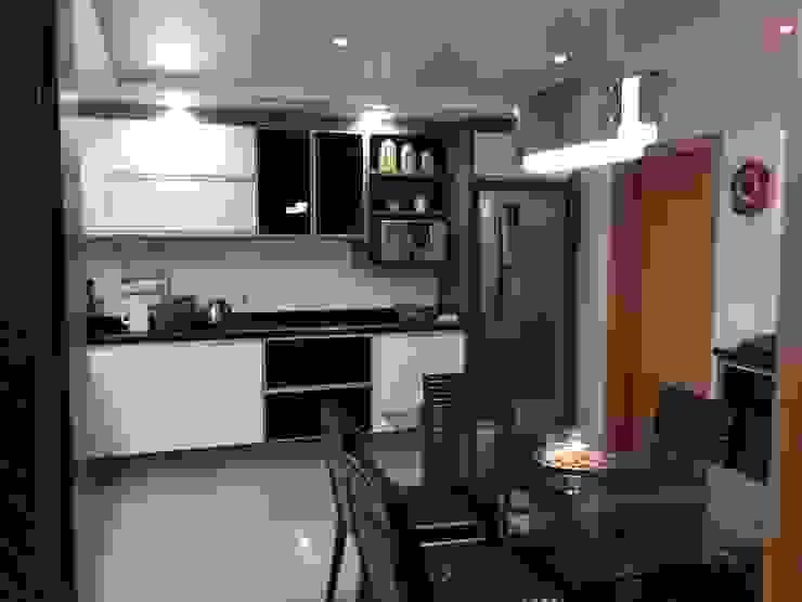 Residência CBM Ágape Arquitetos Associados Dapur Modern