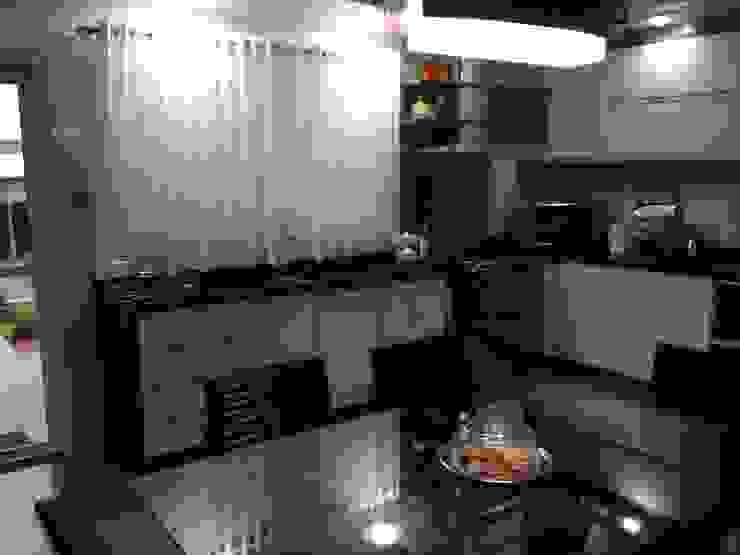 Residência CBM Ágape Arquitetos Associados ห้องครัว