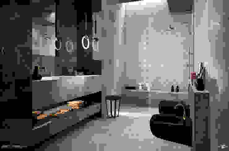 Progetti Baños de estilo moderno de info8258 Moderno