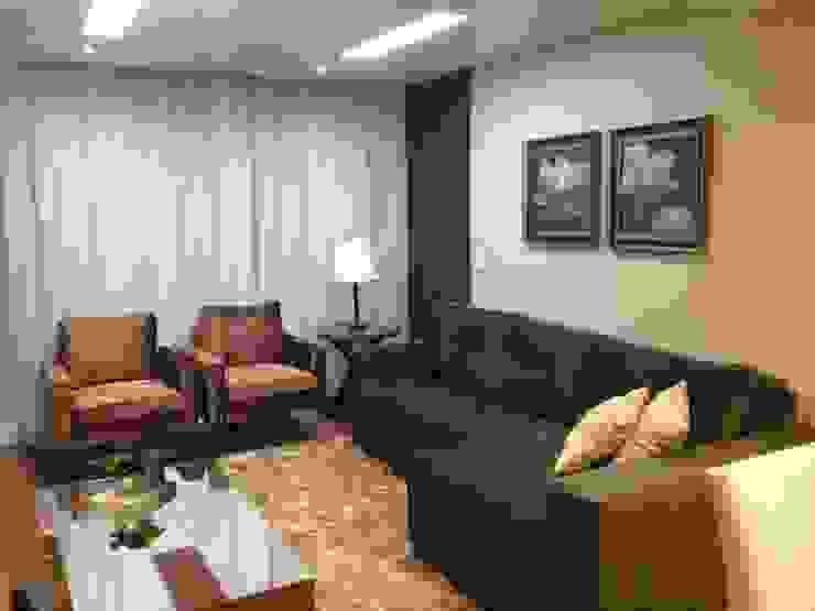 Interiores MM Ágape Arquitetos Associados Modern living room