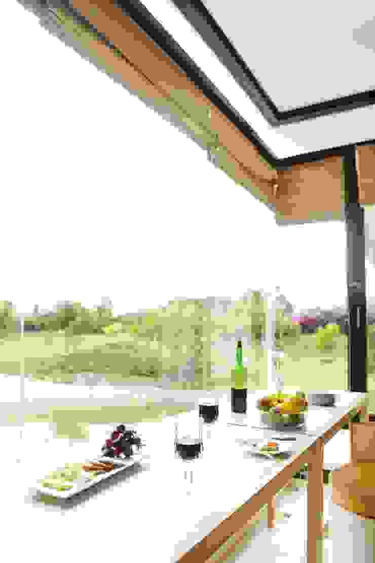 the breakfast nook Modern kitchen by étendre Modern