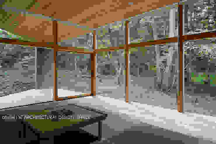 040軽井沢Cさんの家(増築) モダンスタイルの寝室 の atelier137 ARCHITECTURAL DESIGN OFFICE モダン