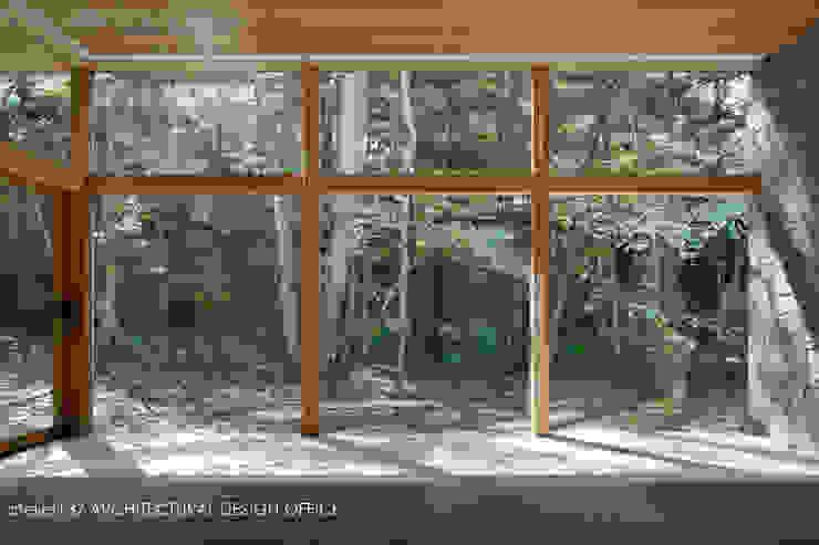 040軽井沢Cさんの家(増築) モダンデザインの リビング の atelier137 ARCHITECTURAL DESIGN OFFICE モダン