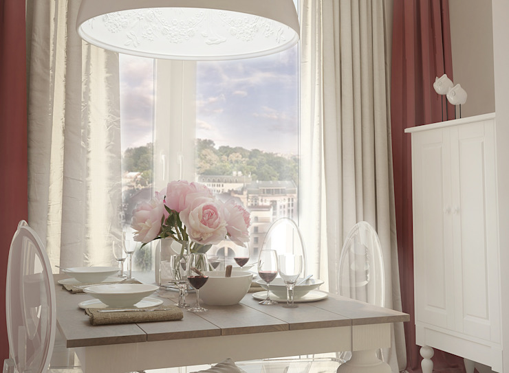 Столовая Столовая комната в скандинавском стиле от Ольга Бондарь Скандинавский
