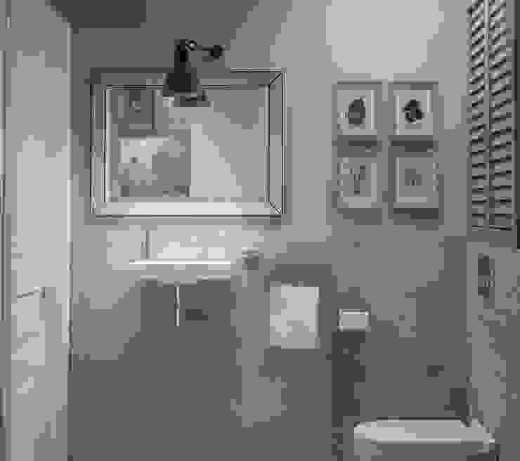 Ольга Бондарь Scandinavian style bathroom