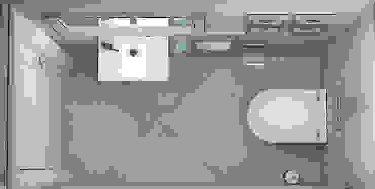Гостевой санузел Ванная комната в скандинавском стиле от Ольга Бондарь Скандинавский