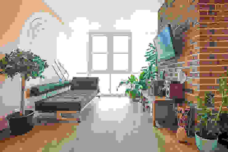 Интерьер студии ул. Дальняя Гостиная в стиле лофт от design-bureau 'DEPO' Лофт