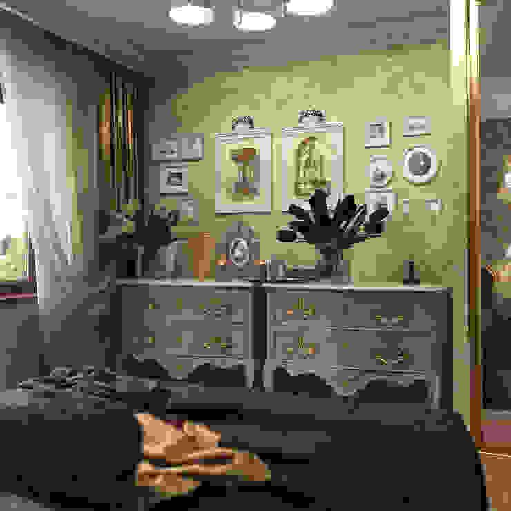 Dormitorios de estilo clásico de Студия Архитектуры и Дизайна Алисы Бароновой Clásico