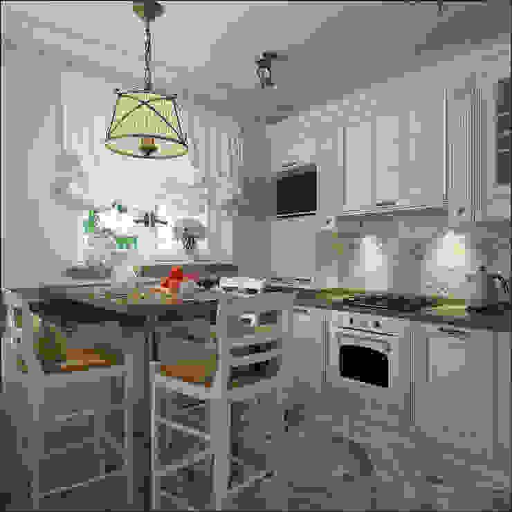 Cocinas de estilo clásico de Студия Архитектуры и Дизайна Алисы Бароновой Clásico