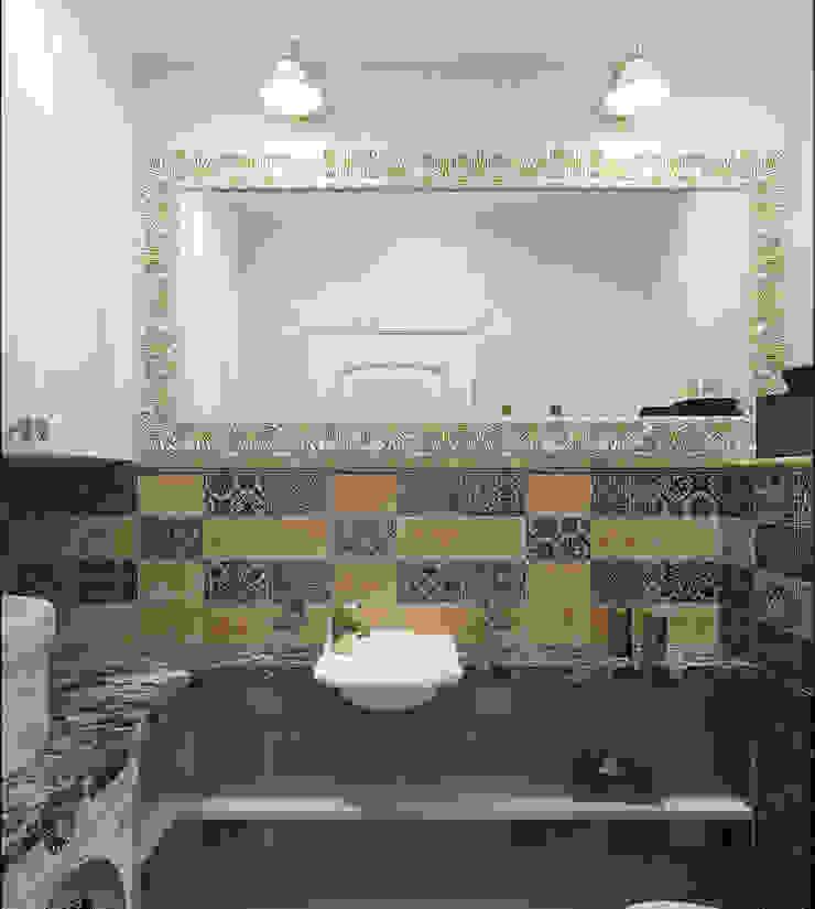 Дизайн квартиры 75 кв.м. в классическом стиле. Ванная в классическом стиле от Студия Архитектуры и Дизайна Алисы Бароновой Классический