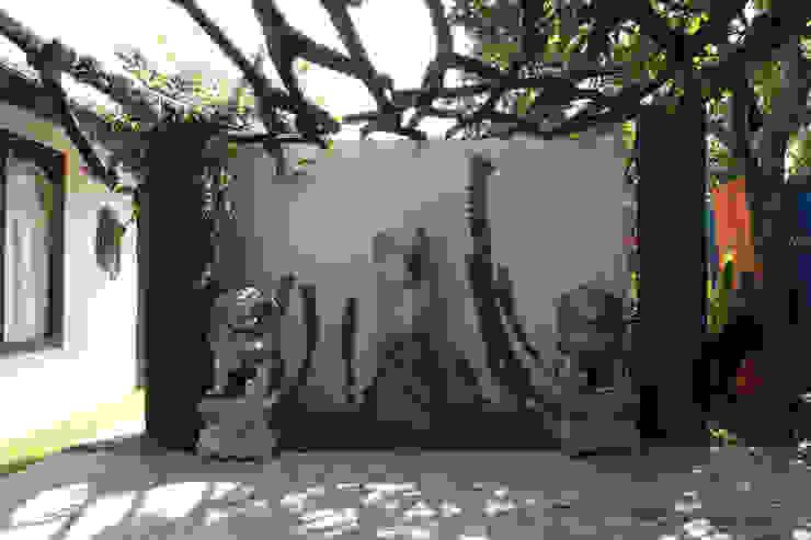 проект реконструкции виллы на о. Бали, 2009: Сады в . Автор – PK AID,