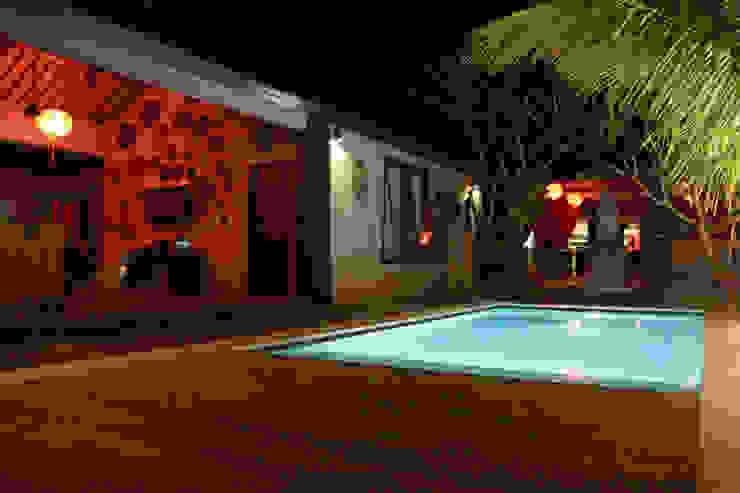 проект реконструкции виллы на о. Бали, 2009 Бассейн в азиатском стиле от PK AID Азиатский