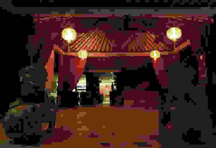 проект реконструкции виллы на о. Бали, 2009 Сад в азиатском стиле от PK AID Азиатский