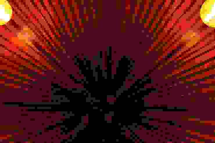 проект реконструкции виллы на о. Бали, 2009 Гостиная в азиатском стиле от PK AID Азиатский