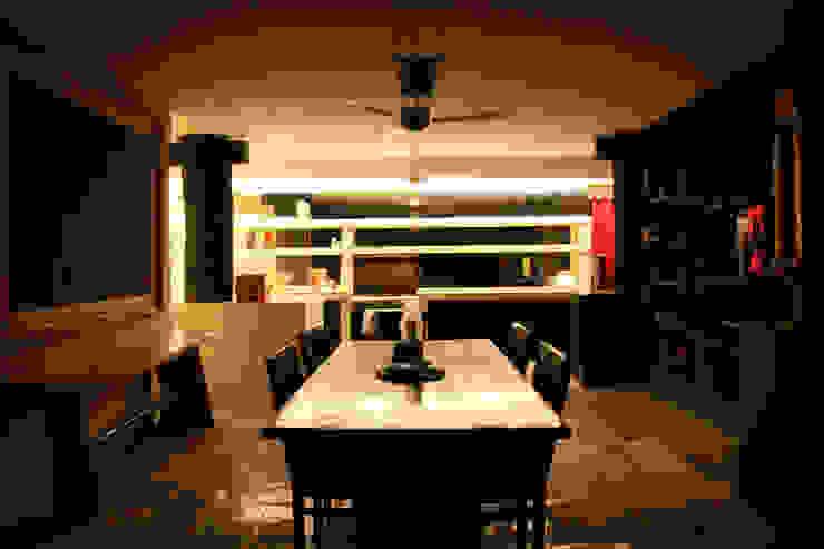 проект реконструкции виллы на о. Бали, 2009 Столовая комната в азиатском стиле от PK AID Азиатский