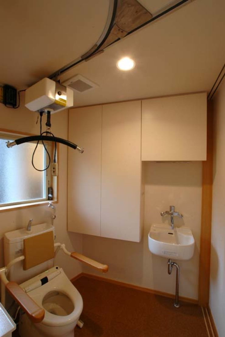 Eclectic style bathroom by 深澤設計 Eclectic