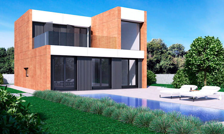 modern  by NUÑO ARQUITECTURA, Modern