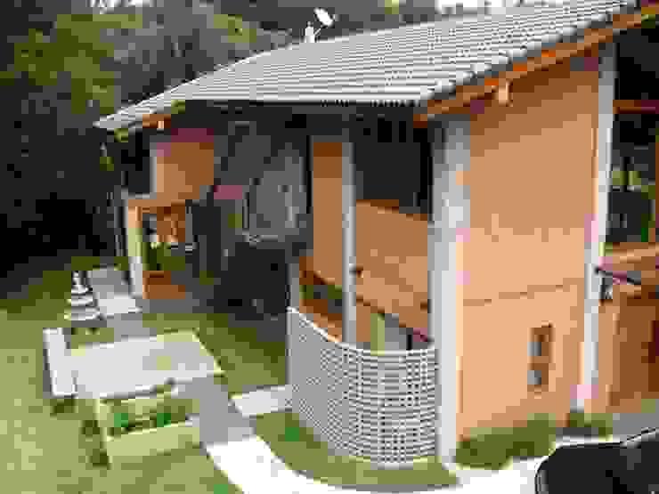 Casa de Campo em Atibaia Casas campestres por GATE Arquitetos Associados Campestre