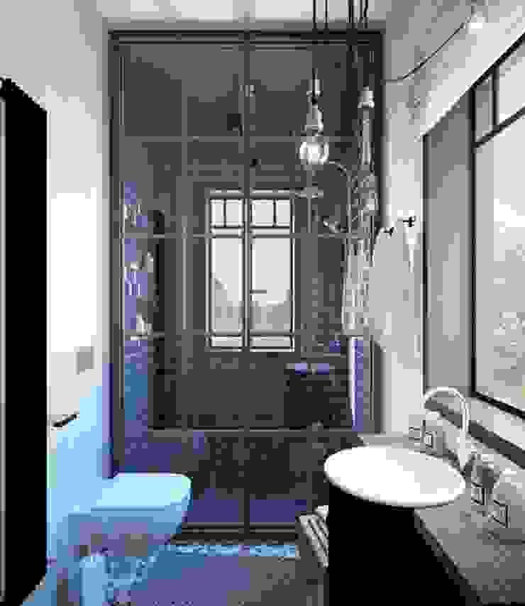 Industrial style bathroom by Студия братьев Жилиных Industrial