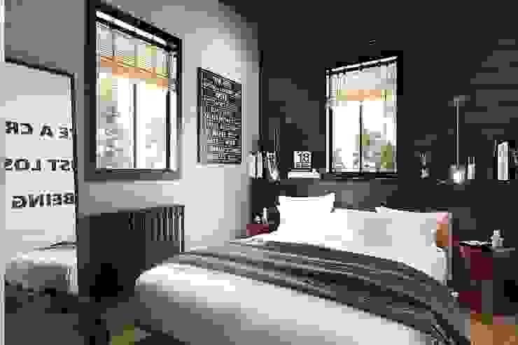 غرفة نوم تنفيذ Студия братьев Жилиных, صناعي