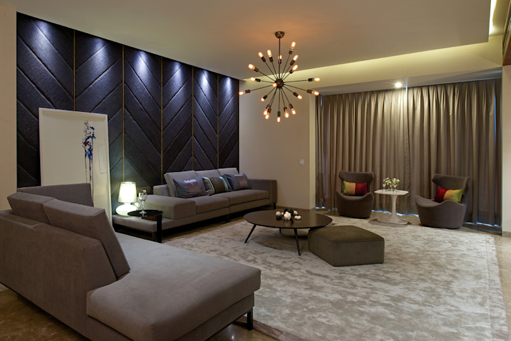 CE Apartment Modern living room by KdnD Studio LLP Modern